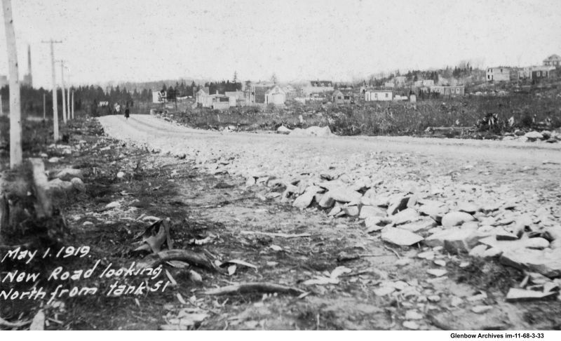 Pleasant Street, Woodside, Dartmouth May 1, 1919