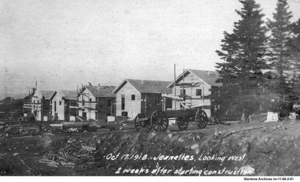 Construction of Avenue A, Imperoyal Village, Woodside, Nova Scotia