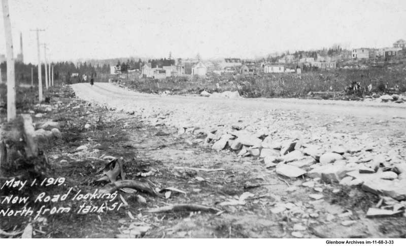 Pleasant Street, Woodside, Dartmouth May 1, 1919