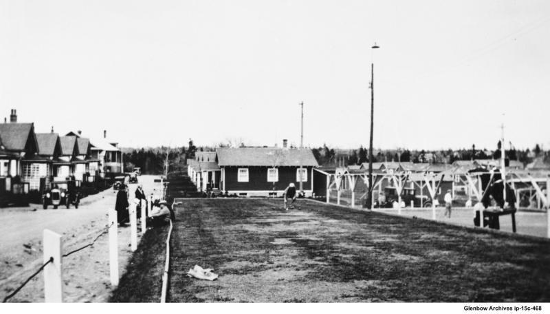 Imperoyal Village bowling green 1925