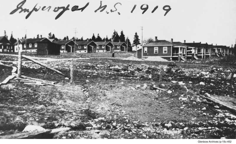 Imperoyal Village Under construction 1919