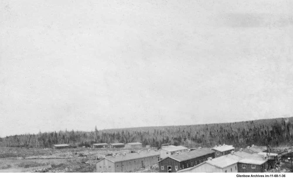 May 26, 1917. These were temporary buildings, used to house construction workers building the Dartmouth Imperial Oil Refinery.