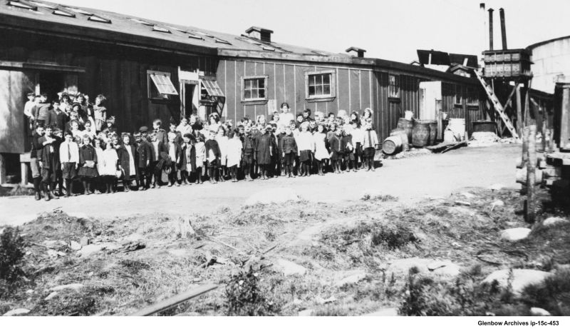 Original Imperoyal two-room school, 1919 to 1920
