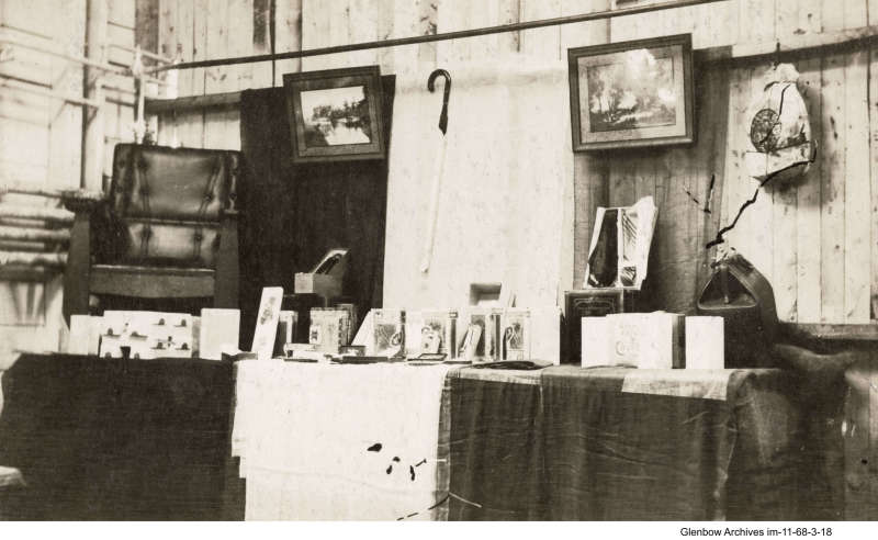items for sale at company store, Imperial Oil's Imperoyal Refinery, Dartmouth,1919