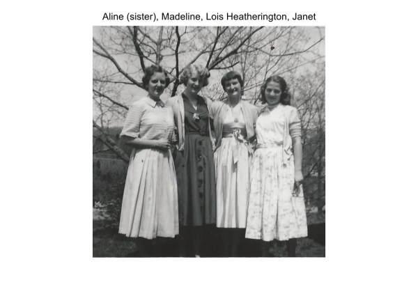 Aline (sister), Madeline, Lois, Janet