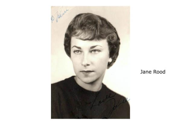 Jane Rood