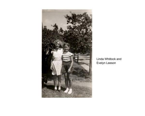 Linda Whitlock and Evelyn Leeson