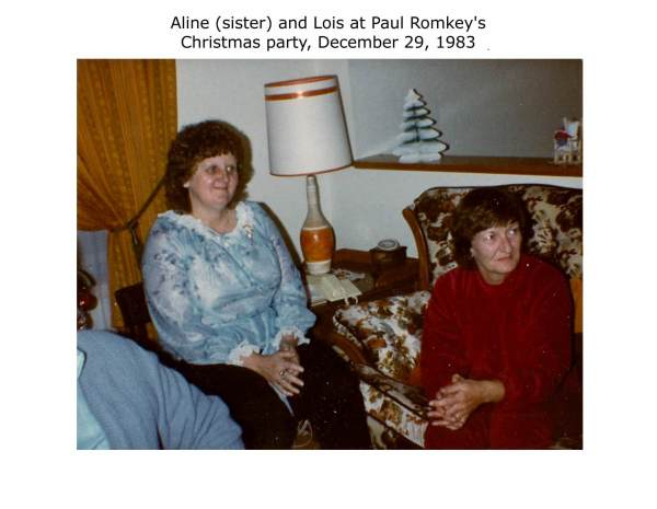 Christmas party at Paul Romkey's home December 29, 1983