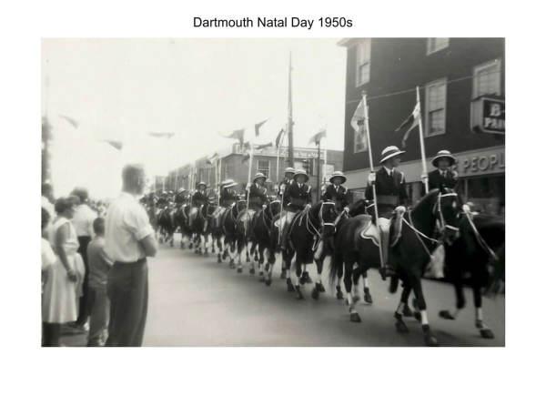 Dartmouth Natal Day 1950s