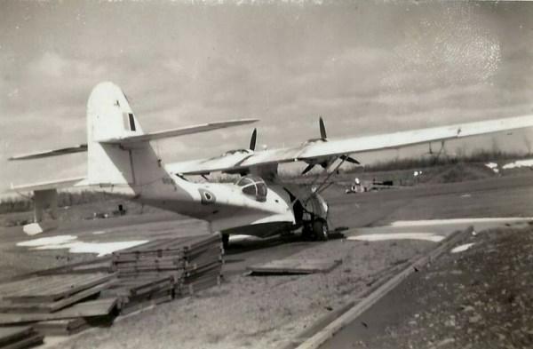 PBY-5A CATALINA used in anti-submarine warfare
