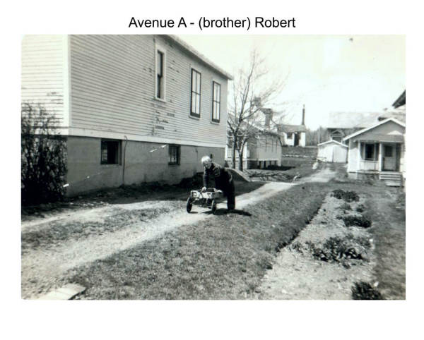 Imperoyal Village Avenue A, Woodside, family photos taken 1950s