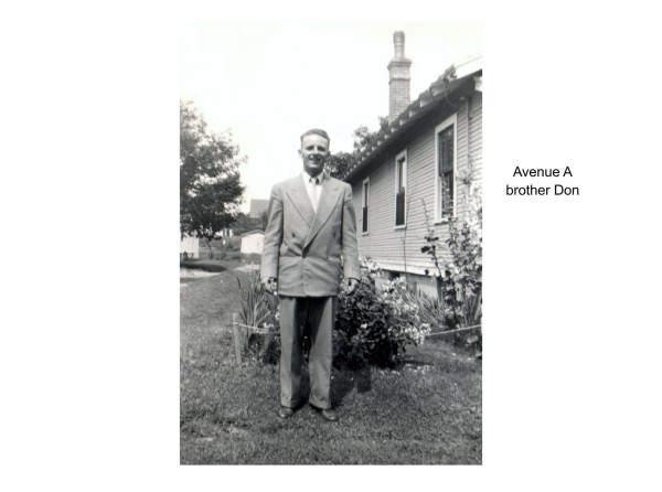 Imperoyal Village Avenue A, Woodside, family photos taken 1940s
