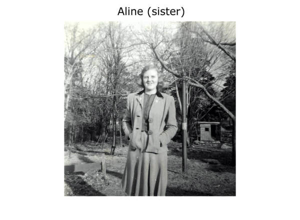 Aline Romkey (sister)