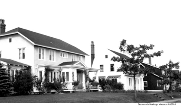 Superintendent's house at the end of Avenue B