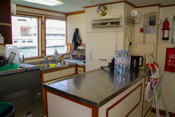 Galley before refit