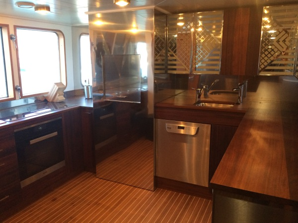 Galley after refit