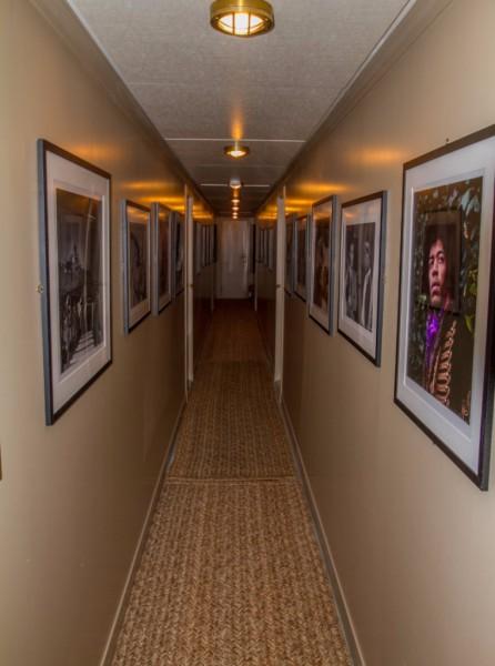 Corridor after refit