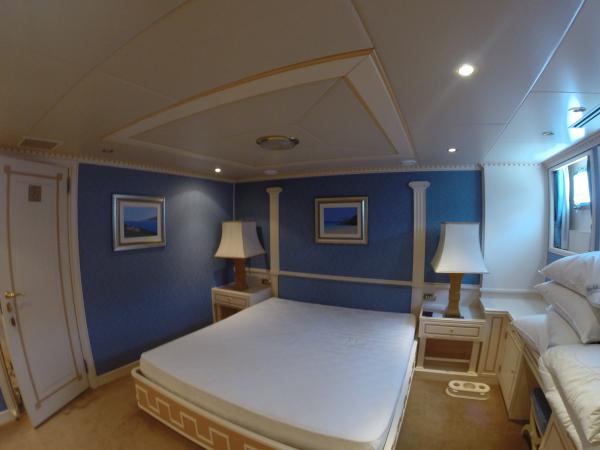Bedroom before refit