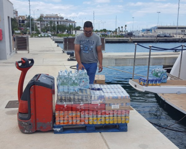 Supply of food and drinks
