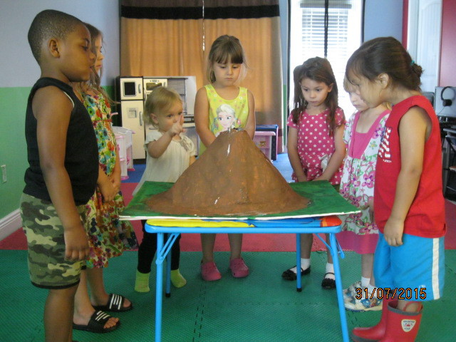 Children's Volcano Project