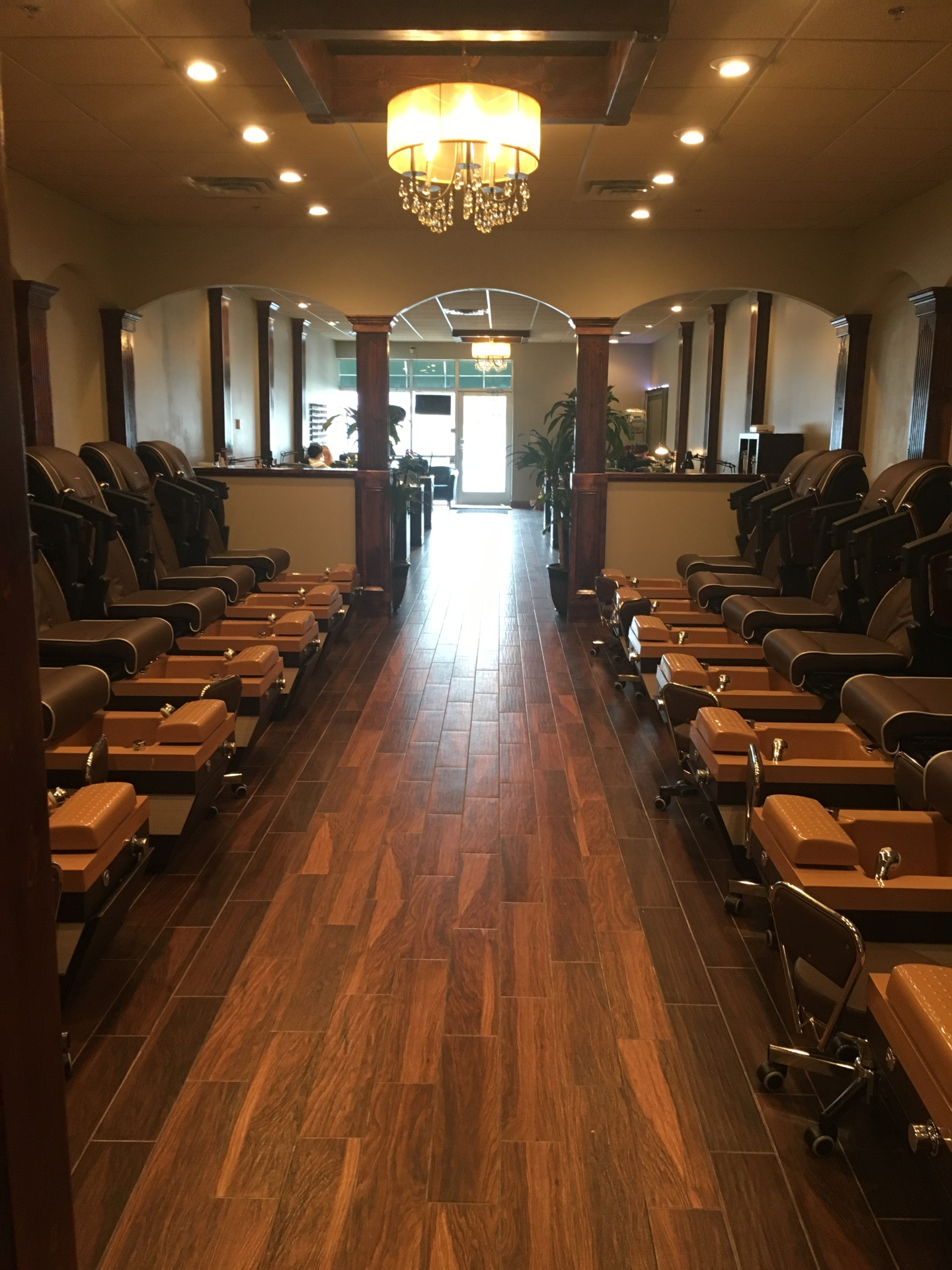 Spacious Pedicure Area
