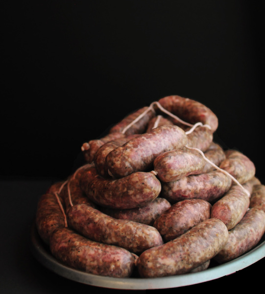 Homemade Tuscan style sausages