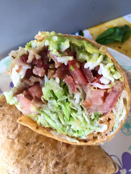 BLT AVOCADO RANCH WRAP