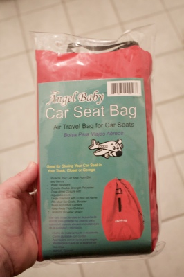 Angel Baby – Car Seat Bag