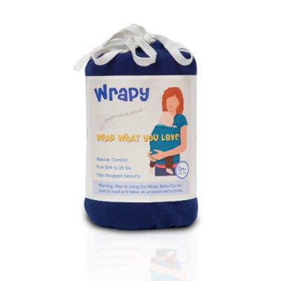 Baby Wrap Carrier Wrapy Review
