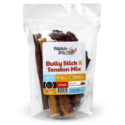 100% Natural Wyldlife Pets Bully Sticks & Beef Tendons Review