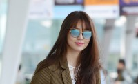 Yoon Eun Hye leaves for Macau to attend the 18th Huading Awards