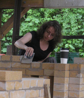 Building a wood kiln