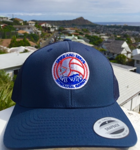 SAS Beach Trucker Navy Colorway