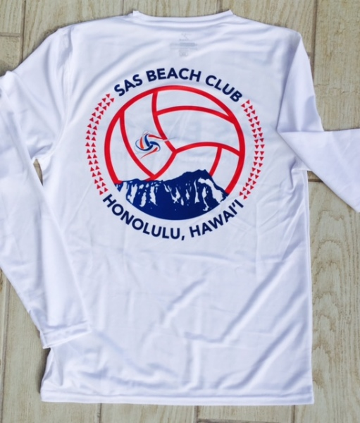 SAS Beach DryFit Back