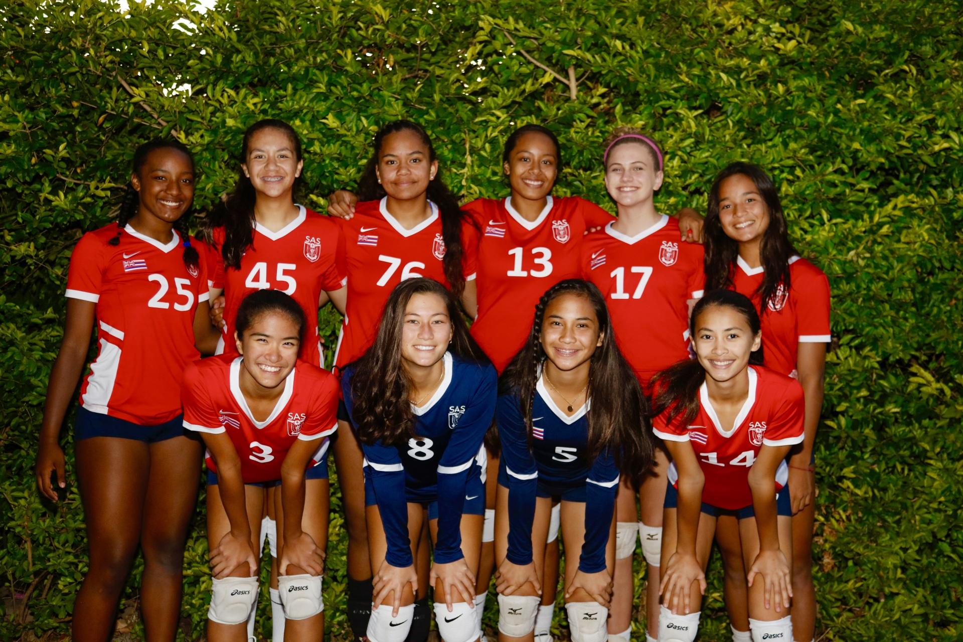 SAS GIRLS 14 Red