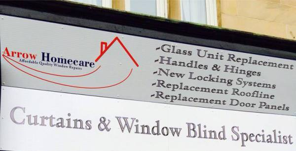 glasgow shop fronts, shop signs, sign glasgow