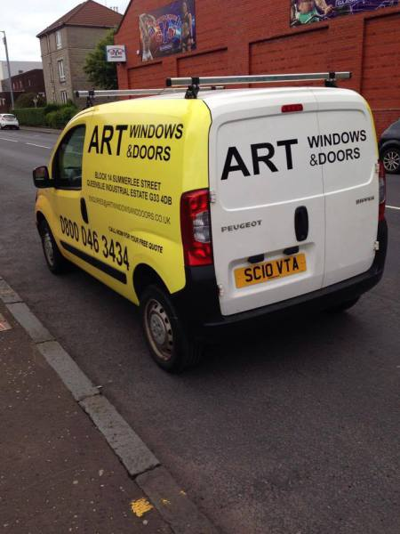 vehicle decals glasgow