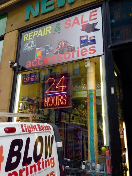 window graphics glasgow, vinyl stickers glasgow, window stickers