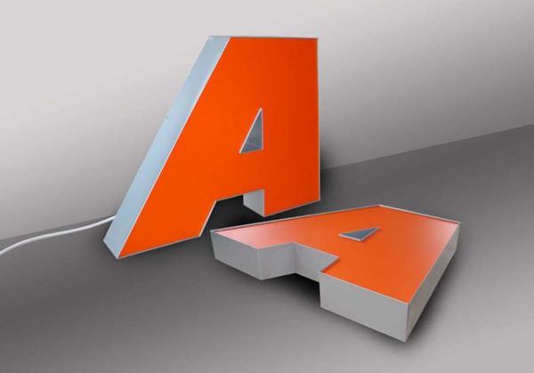 acrylic letter 3D
