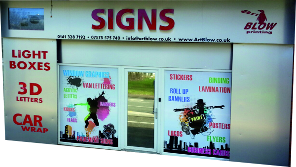shop fronts glasgow, glasgow sign makers, glasgow signs, signs glasgow, 3D letters glasgow, glasgow shop letters, full shop fronts glasgow