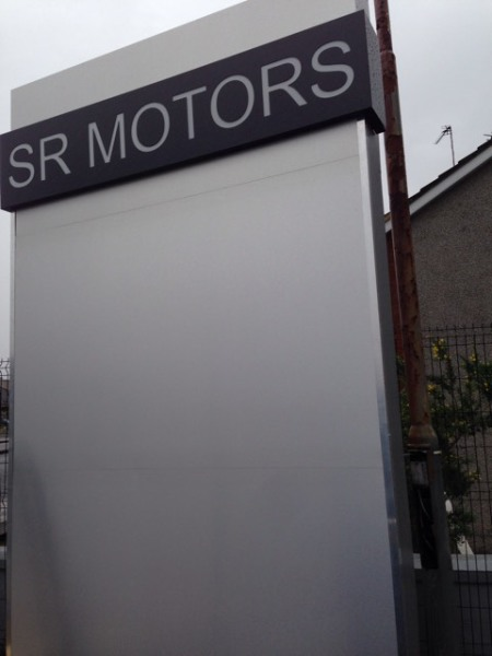 free standing light box glasgow, glasgow freestanding lightboxes, illuminated signs glasgow