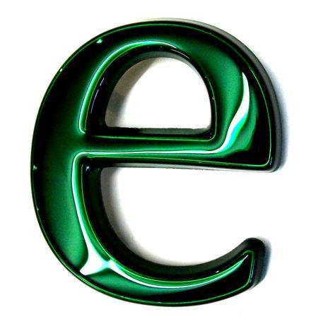 Emerald Moulded Letter