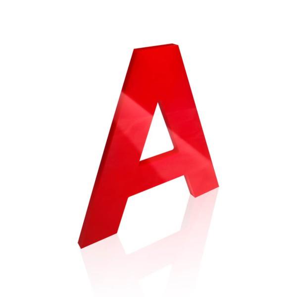 perspex shop letters glasgow, glasgow 3d letters