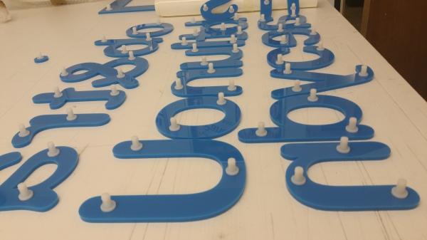 3d letters glasgow, glasgow shop letters, glasgow wall logos