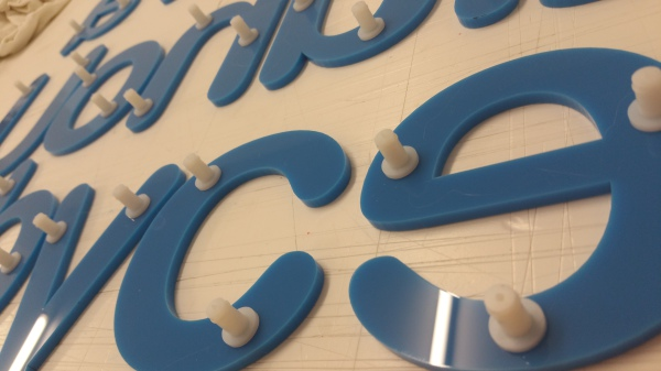 laser cut letters glasgow, glasgow letters for sign,