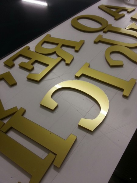 shop letters glasgow, sign letters glasgow, glasgow letters for signs