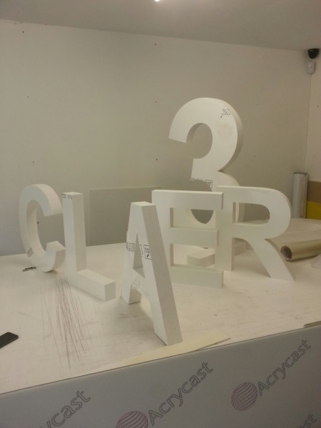 glasgow freestanding letters, glasgow 3D letters, glasgow signs