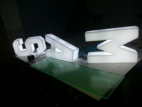 illuminated letters glasgow, glasgow 3D letters, 3D sign letters