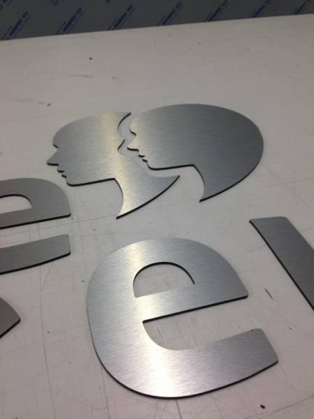 aluminium letters glasgow, glasgow metalic sign letters, shop letters aluminium