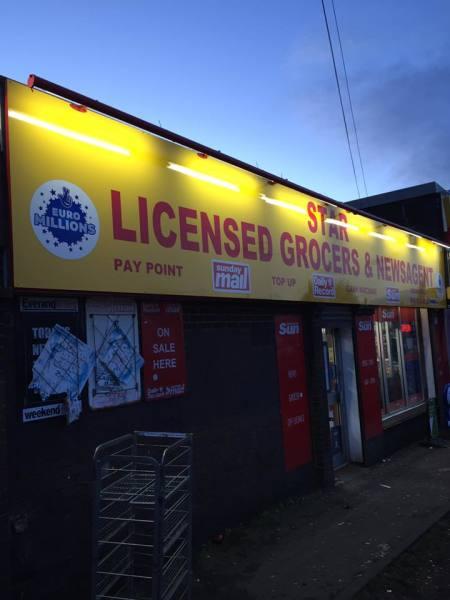 glasgow signs, cheap signs glasgow, glasgow shop signs